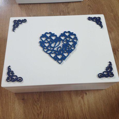 Pudełko na koperty na wesele