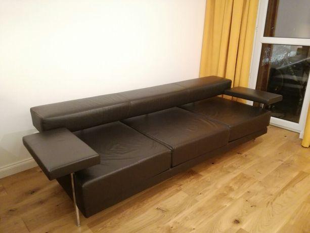 Sofa kanapa skórzana hiszpańska PEROBELL