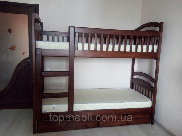 Кровать 2 этажа Карина с ящиками