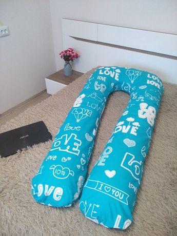 Подушка для беременных 150см с наволочкой и сумкой