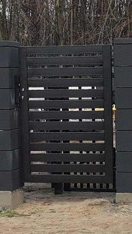 Nowa Furtka bramka panelowa palisadowa