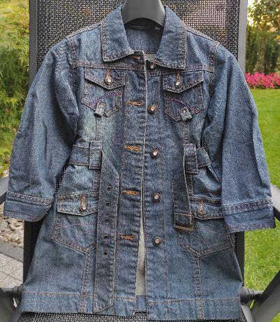 śliczny płaszczyk jeansowy C&A, rozmiar 104, wysyłka w cenie