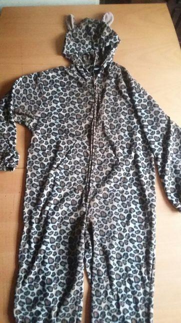 Przebranie lampart r.M piżama kostium kigurumi onesie