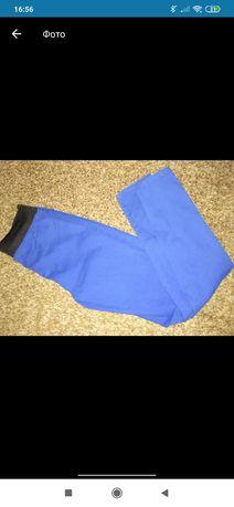 Штаны синего цвета.XS-S