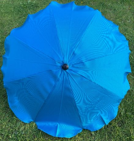 Uniwersalna parasolka do wózka kolor niebieski