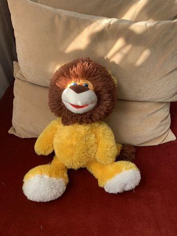 Лев львенок мягкая игрушка