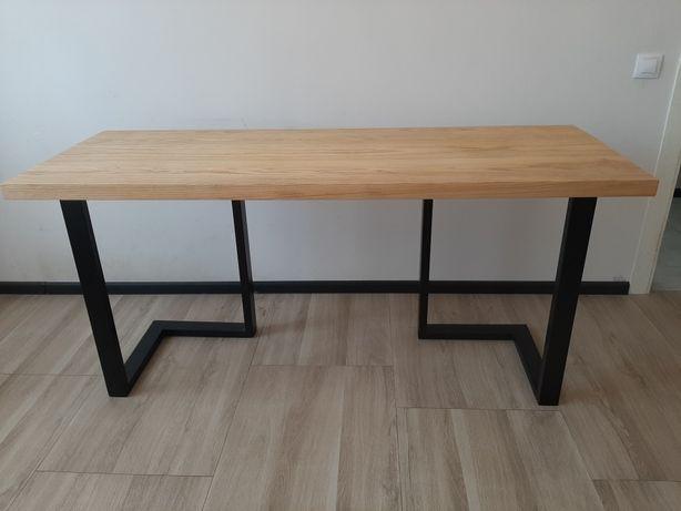 Письменный стол дерево-металл