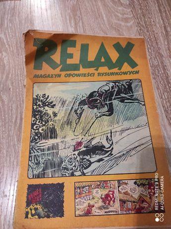 Relax magazyn opowieści rysunkowych Zeszyt 8