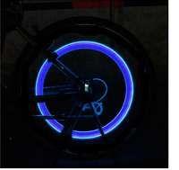 2 valvulas luminosas para bicicleta/moto