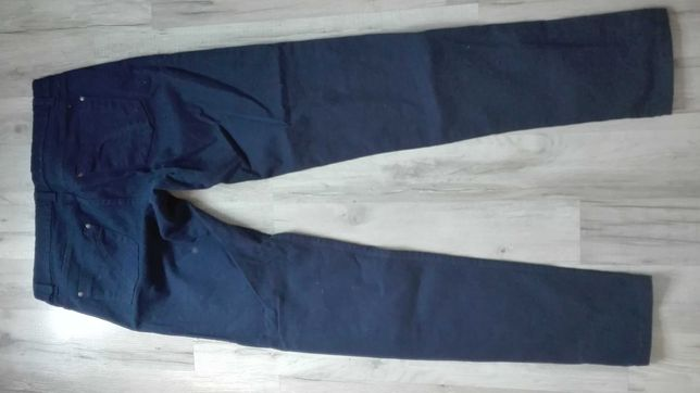 Spodnie damskie granatowe terranova L