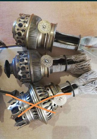 Lampa naftowa,części brennery - palniki