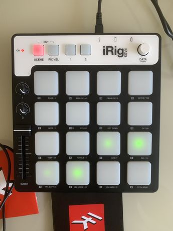 IK Multimedia iRig Pads midi контроллер для ios/pc