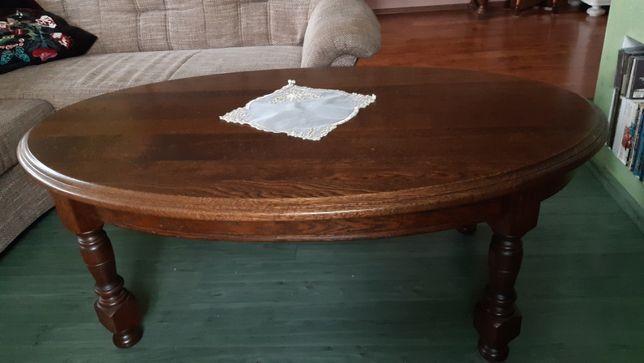 Ława dębowa do salonu