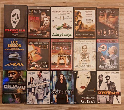 Filmy DVD, oryginalne w pudełkach   7zł za sztukę