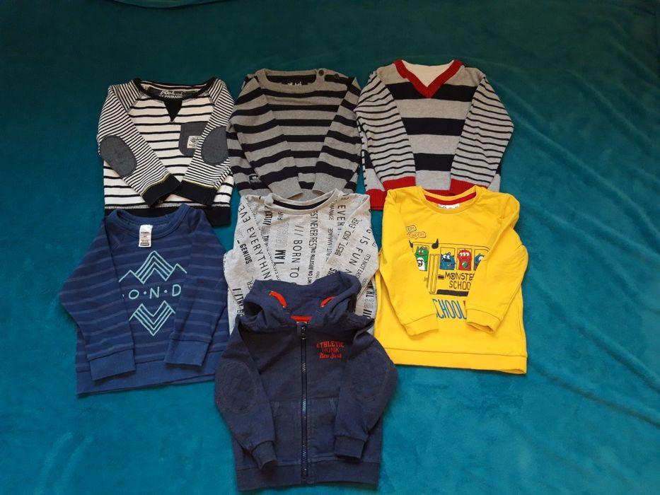 Paczka swetry i bluzy 80-86 Mińsk Mazowiecki - image 1