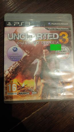 Gra Uncharted 3 PlayStation 3 ps3
