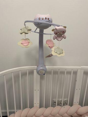 Karuzela z projektorem Infantino