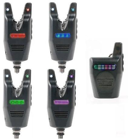 Набор сигнализаторов поклевки CarpOn 4+1 в кейсе