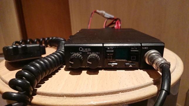 Radio QUER C. B. komplet - nie president.