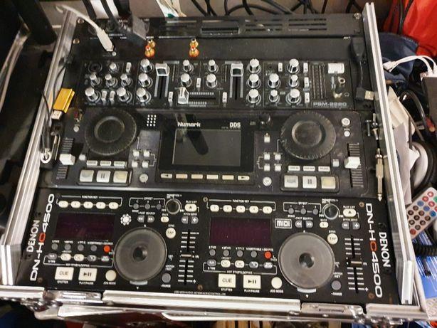 Mikser DJ PSM 2220 rack 2U bardzo rozbudowana konfiguracja DJ
