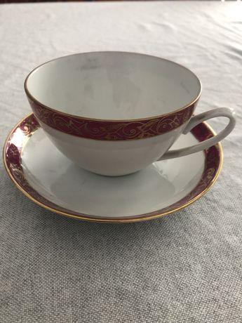 Porcelana Chodzież zestaw kawowy