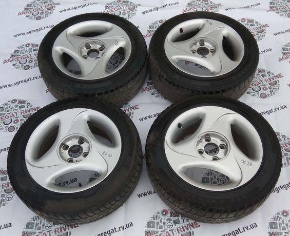 Диски Титаны 4*100 7Jx15H2 ET 35 Резина 195/55 R15 Opel Combo Комбо