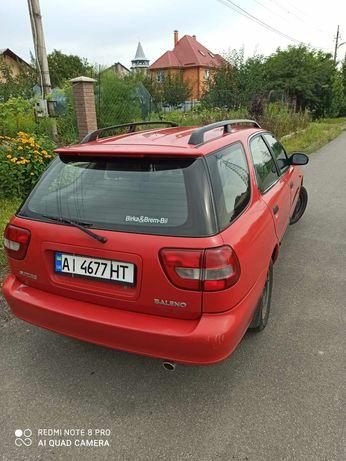Автомобиль Suzuki Baleno с честным маленьким пробегом, из Швеции.