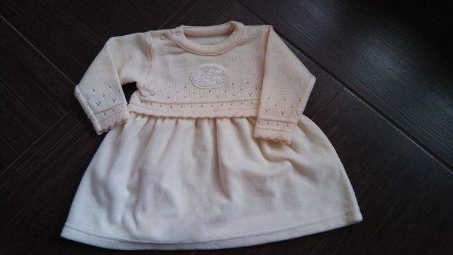 sukienka dla dziewczynki, rozmiar 68