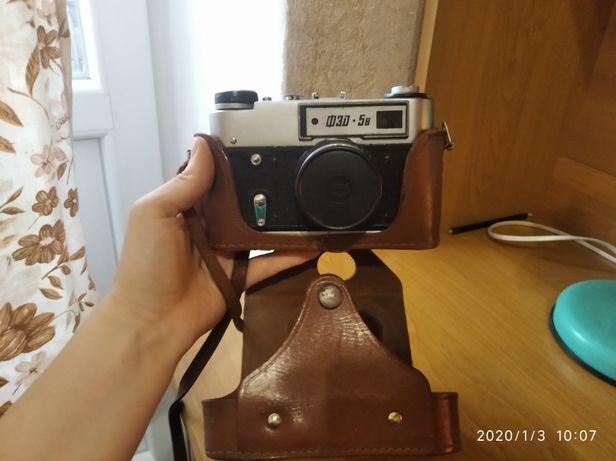 Советский фотоаппарат ФЭД 5в