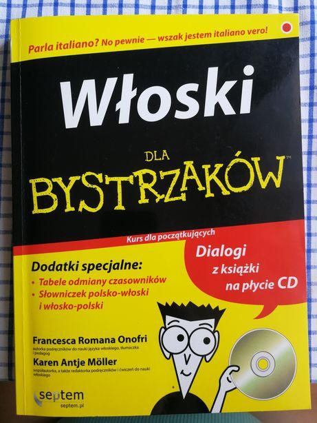Włoski dla bystrzaków NOWA, płyta CD dodatkowo