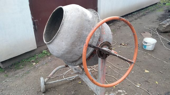 Ремонт бетономешалок