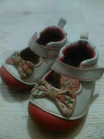 Buty pantofelki skóra 19