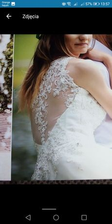 Suknia ślubna 34 155+6