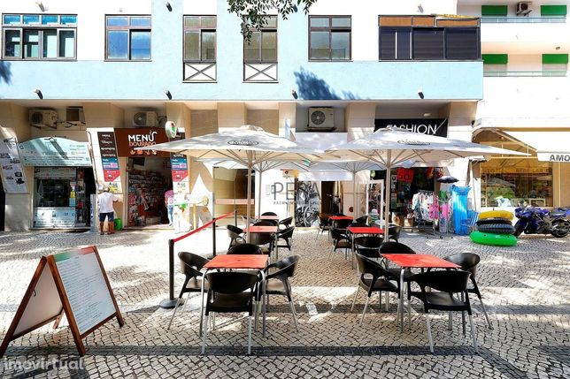Restaurante Pizzaria - comercio situado em Quarteira