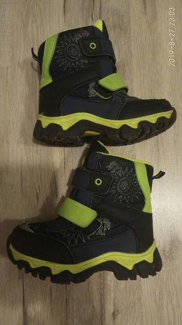 Продам зимнюю детскую обувь для мальчика