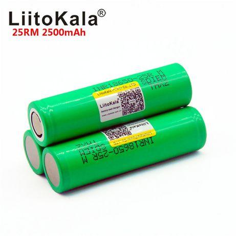 Высокотоковый аккумулятор Liitokala Samsung 25R 2500mAh 18650 оригинал