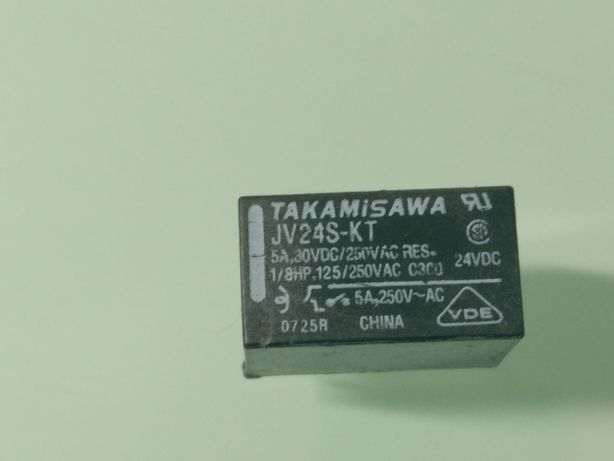 Relé JV24S KT TAKAMISAWA