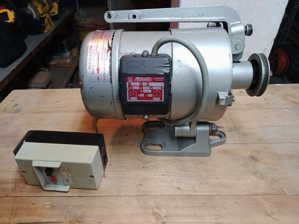 Silnik elektryczny z hamulcem
