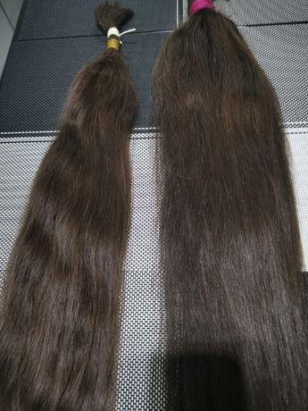 Włosy naturalne dziewicze Polskie 8nie farbowane 62cm i 67cm