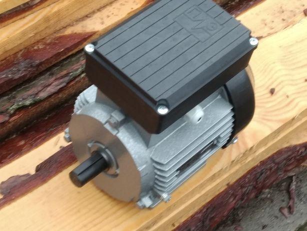 Новий однофазний електромотор електродвигун 0,75 кW 1385 об/хв
