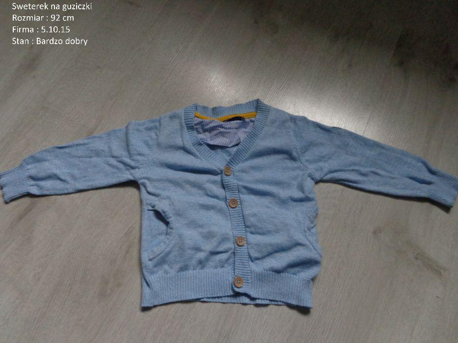 Ubranka paka dla chłopca chłopaka 92 /98 za 25zł Połomia - image 1