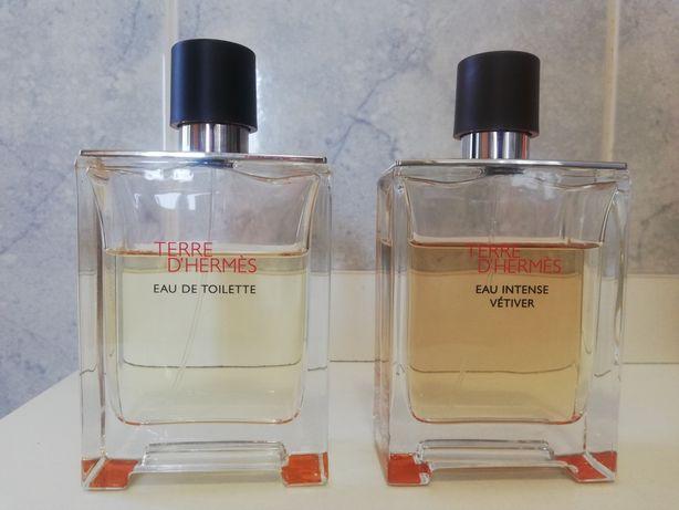 Perfume - Hermés, Terre 100ml. / Terre Eau intense 100ml.