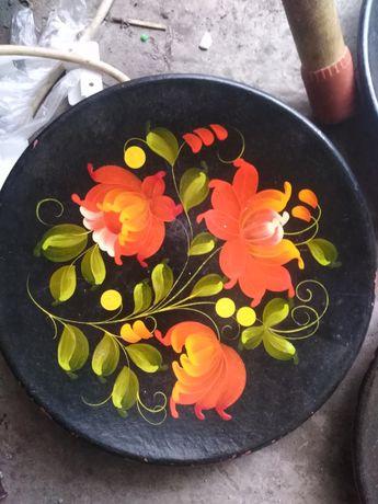 Декоративная подвесная тарелка СССР