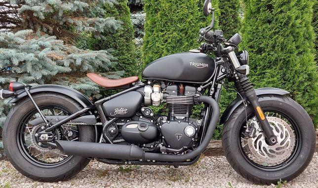 Triumph Bonneville Bobber Black 1200 zarejestrowany