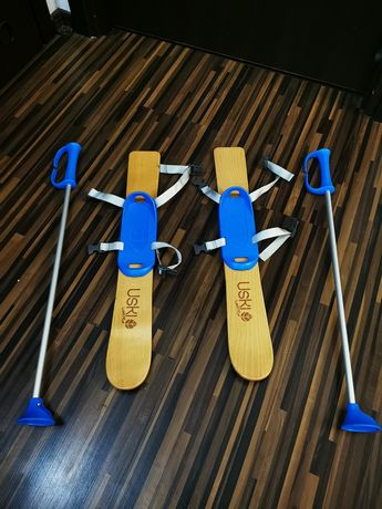 Narty drewniane dla dzieci Decathlon