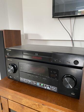 Amplituner oraz odtwarzacz DVD Pioneer