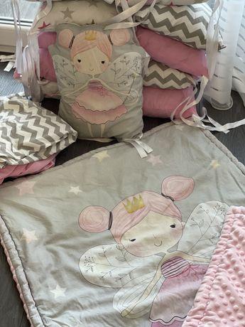 Комплект в кроватку( бортики в кроватку)