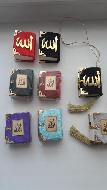 Коран. Коран на арабском языке. Книга миниатюрка. новая 5 см. Ислам