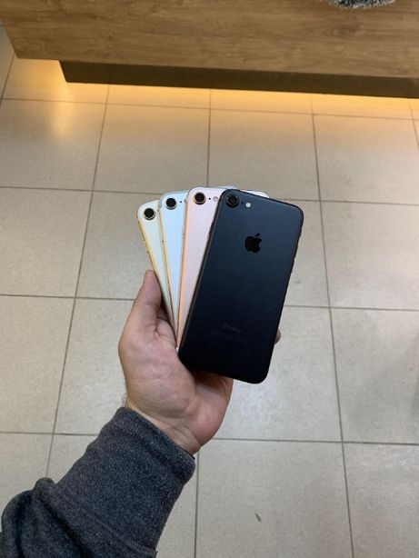 iPhone 7 32/128/256Gb Gold/Rose Gold/Black/Silver Магазин Гарантия
