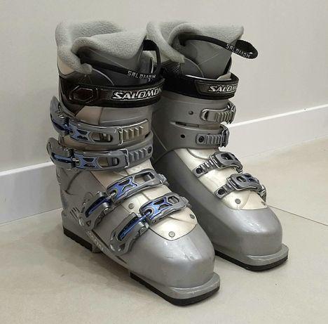 Лыжные ботинки Salomon женские размер 25 на ногу 38, 39